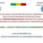 RENTREE SOLENNELLE DES COURS ET TRIBUNAUX 2014-2015