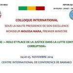 Mali : Lutte contre la corruption au Mali : Rôle et place de la justice