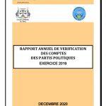 PUBLICATION DU RAPPORT ANNUEL 2019 DE VÉRIFICATION DES COMPTES DES PARTIS POLITIQUES PAR LA SECTION DES COMPTES